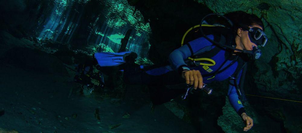 Bucear en lo más profundo del Gran Cenote