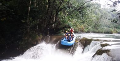 Rafting en el río Lancajá