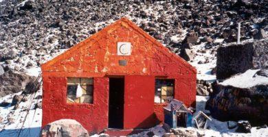 Refugio del alpinista del Pico de Orizaba