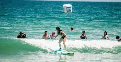 Clases de surf en Sayulita
