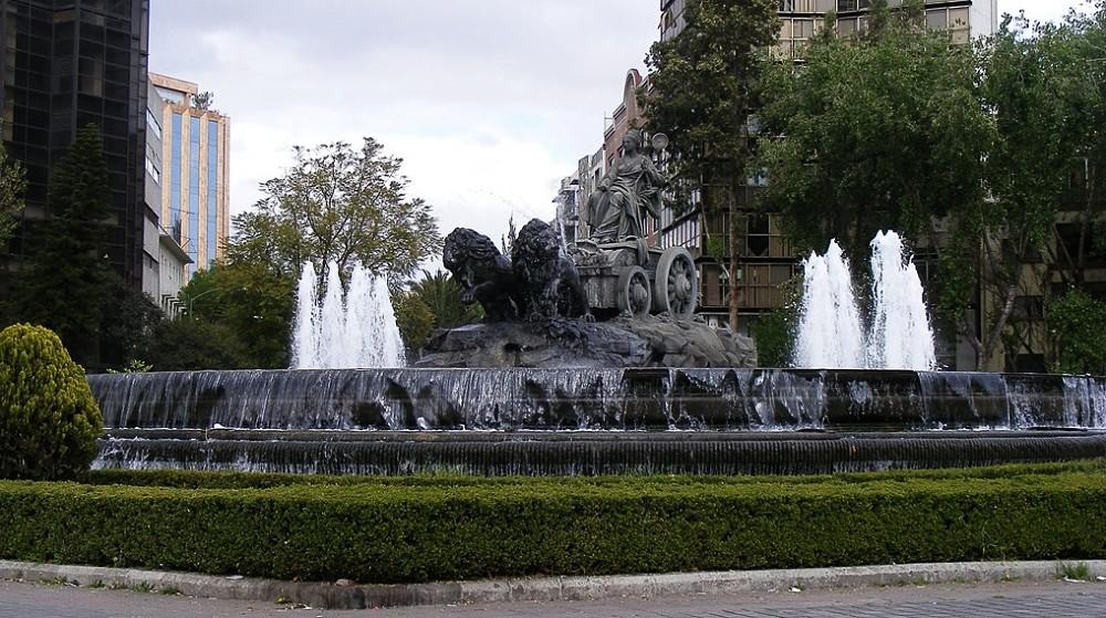 Fuente de Cibeles, Ciudad de México