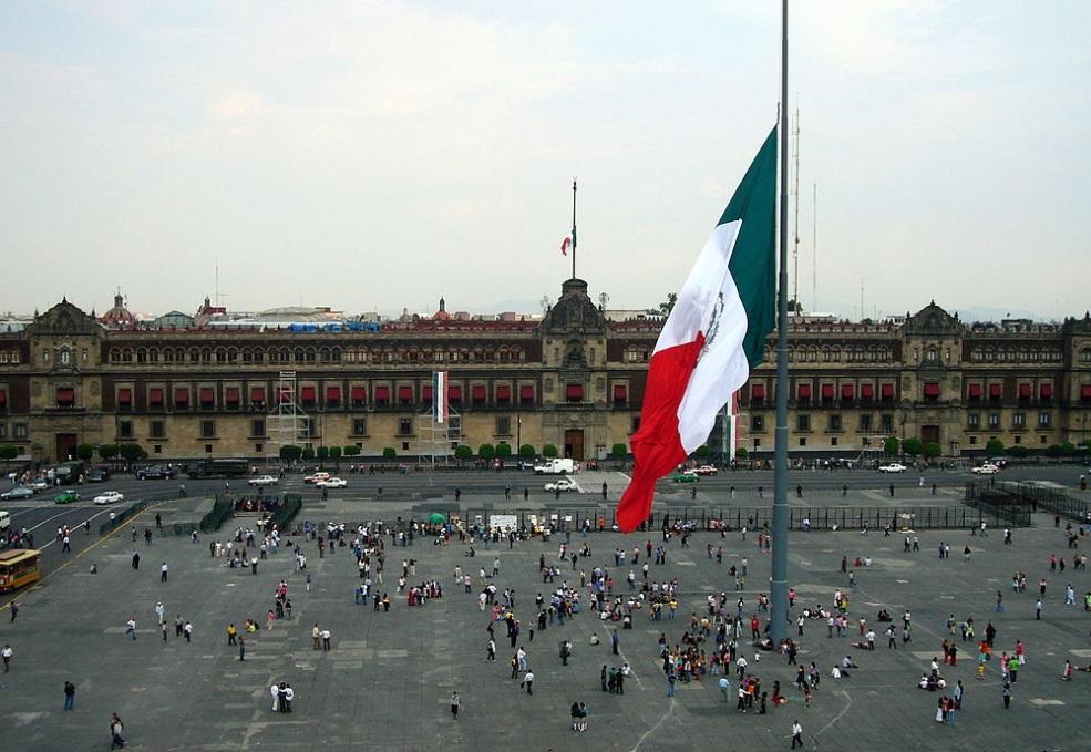 Plaza de la Constitución, Centro Histórico de México