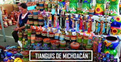 Los Mejores Tianguis en Michoacán