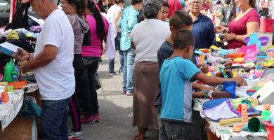 Tianguis en Mexicali